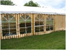 Zelte mit 6m Breite im 3m-Raster